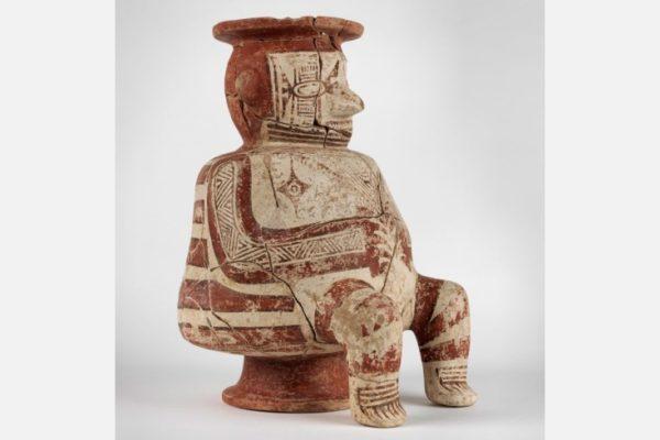 Effigy Vessel, Panama, Sitio Conte, 700-900 CE, Ceramic, 40-16-75, Image provided courtesy of the Penn Museum
