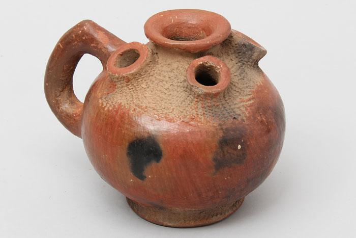 African ceramic flower pot