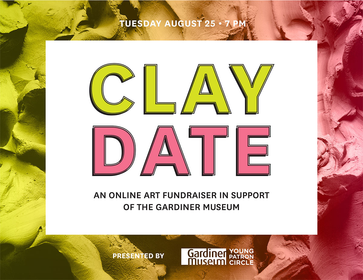 Clay Date - An online art fundraiser in support of the Gardiner Museum