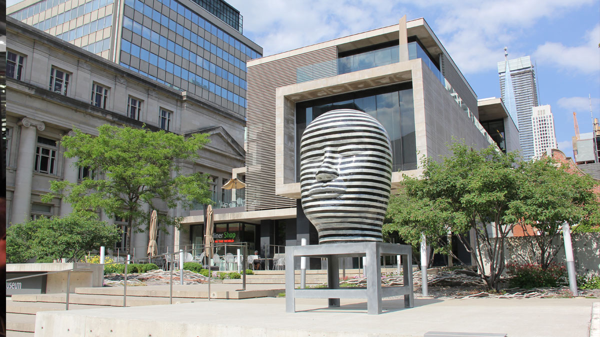 Front of the Museum with the Jun Kaneko