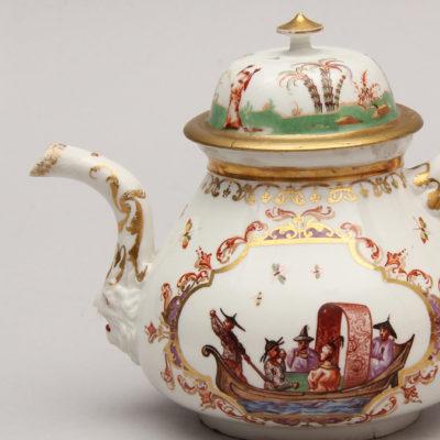 Hausmaler-Decorated Porcelain