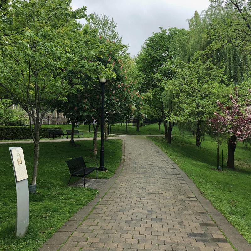 Philosopher's Walk at Queen's Park