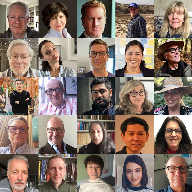 Individual photos of Gardiner Board members in a grid