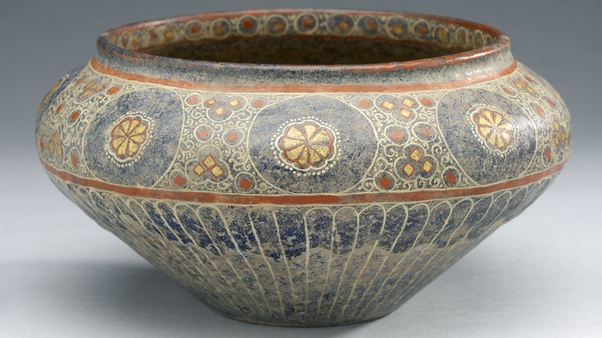 Detail of a bowl from Iran c. 1280 –1350