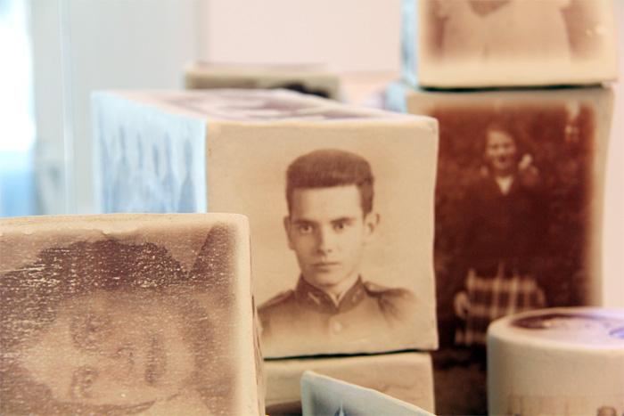 Ceramic installation by artist Heidi McKenzie