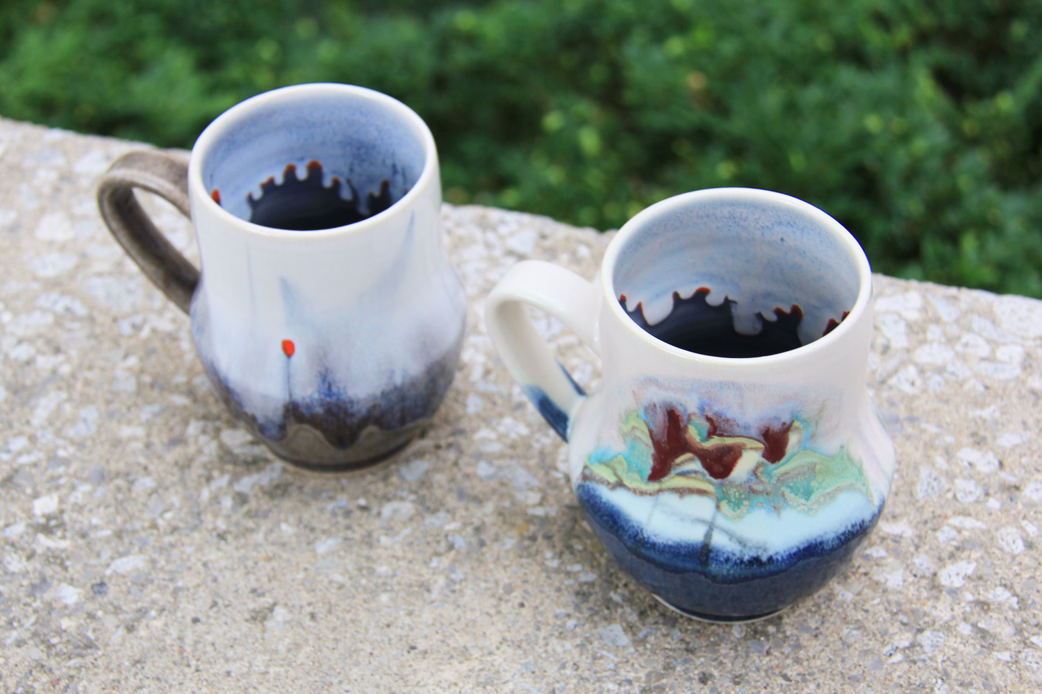 Mugs by Michelle Mendlowitz at the Gardiner Shop