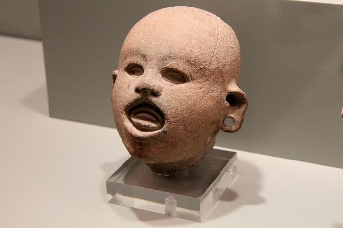 Head of Xipe Totec, Aztec style