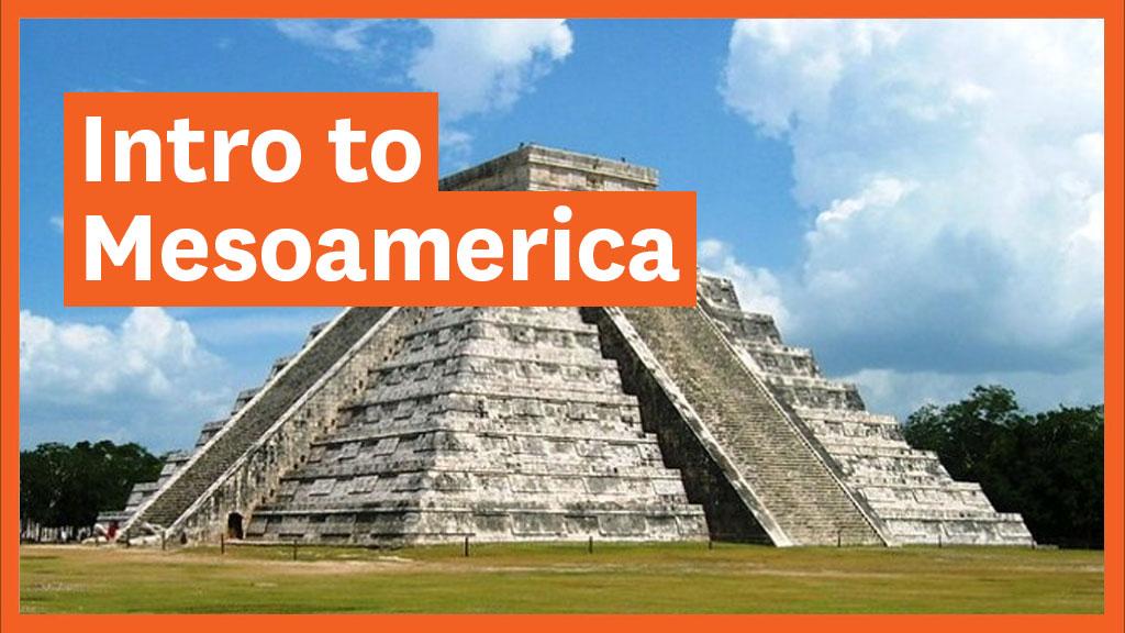 Photo of a Maya pyramid