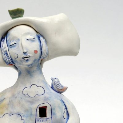 Ceramic sculpture by Maria Moldovan