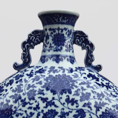 Ai Weiwei, Blue and White Moonflask, 1996 (detail)