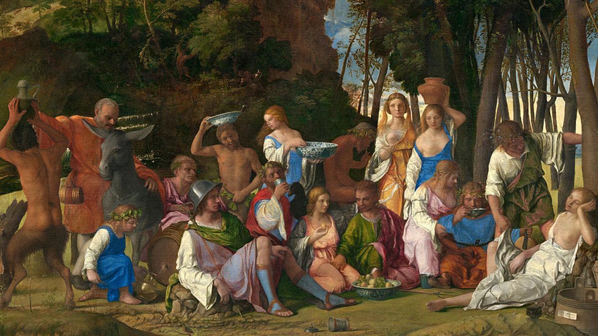The Feast of the Gods (Giovanni Bellini and Tiziano Vecelli)