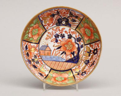 Saucer in the Japanese Imari Style-Inspiration