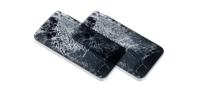Cracked cell phones