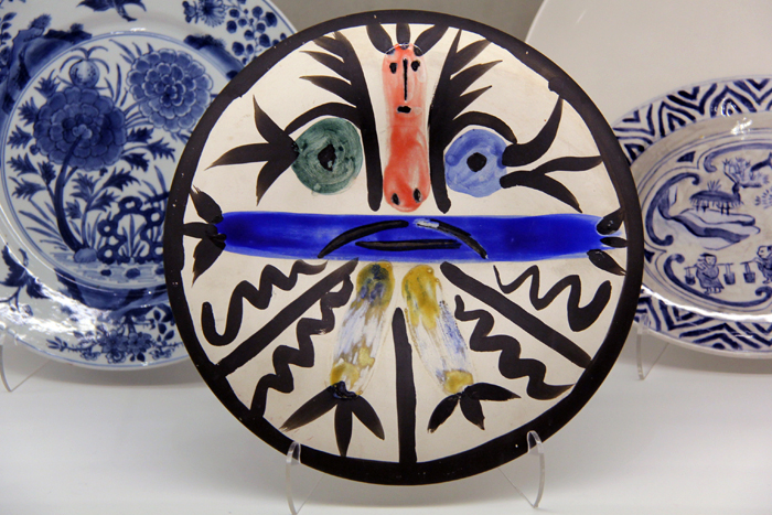 Ceramic painted plate by Pablo Picasso