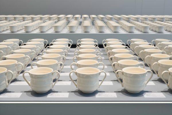 """Forever"", Clare Twomey, 2010. Nelson Atkins Museum of Art, Kansas City, USA."