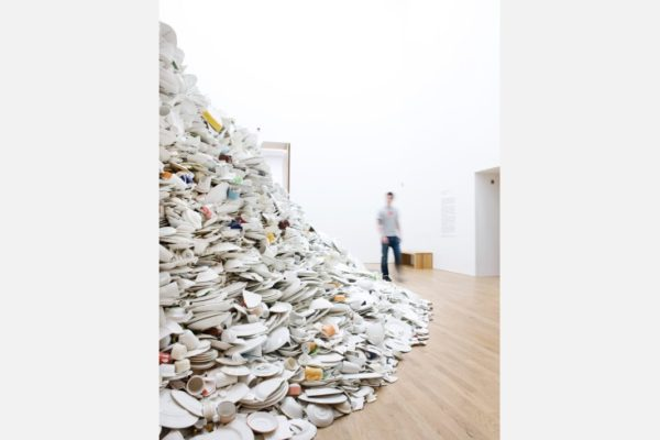 """Monument"", Clare Twomey, MIMA Middlesbrough Institute of Modern Art, UK."